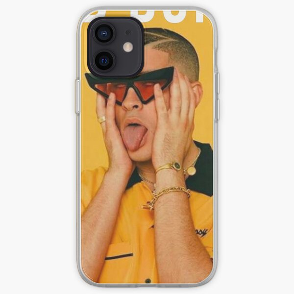 Bad Bunny Poster iPhone Soft Case RB3107 product Offical Bad Bunny Merch