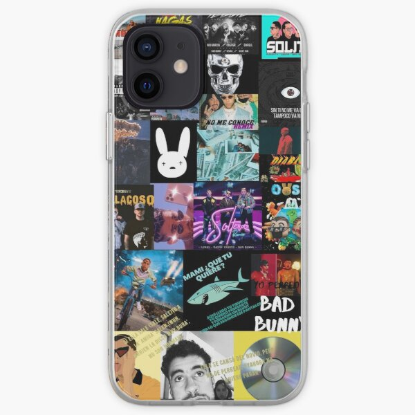 Bad bunny  iPhone Soft Case RB3107 product Offical Bad Bunny Merch