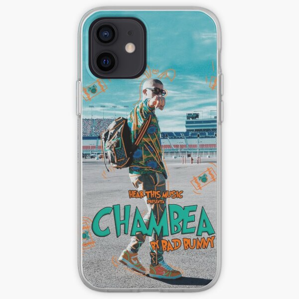 Bad Bunny - Chambea iPhone Soft Case RB3107 product Offical Bad Bunny Merch