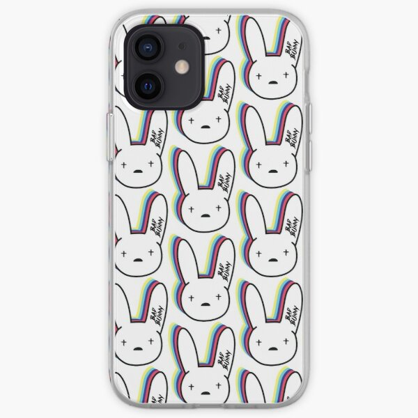 Bad Bunny Logo iPhone Soft Case RB3107 product Offical Bad Bunny Merch