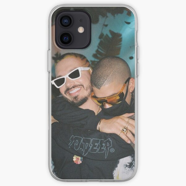 BAD BUNNY J BALVIN Oasis Tropical  iPhone Soft Case RB3107 product Offical Bad Bunny Merch