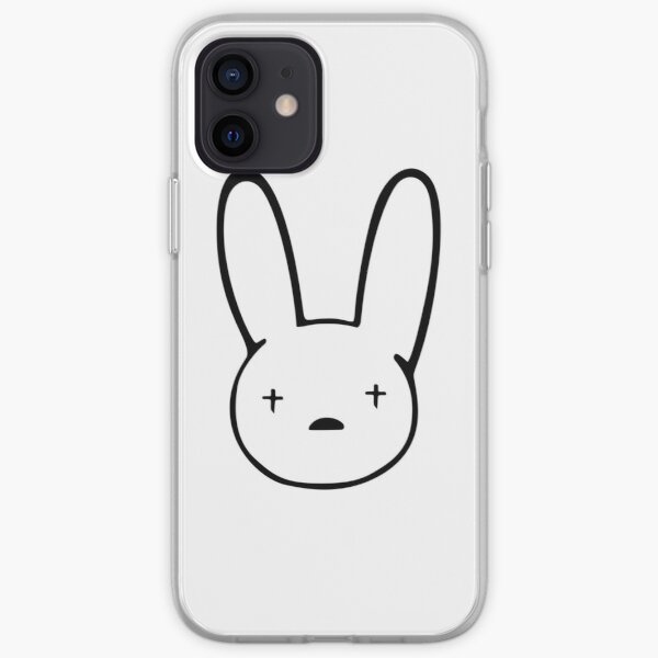Bad Bunny Sticker Best Quality - Bad Bunny Logo Decal x100PRE iPhone Soft Case RB3107 product Offical Bad Bunny Merch