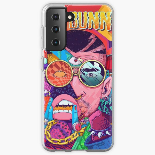 Bad Bunny Design Samsung Galaxy Soft Case RB3107 product Offical Bad Bunny Merch