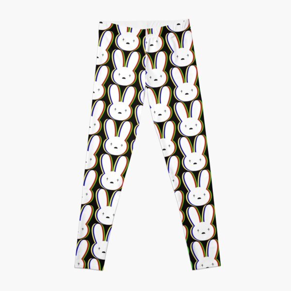 Bad Bunny Pattern Leggings RB3107 product Offical Bad Bunny Merch