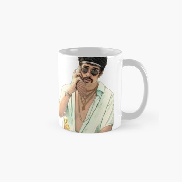 bad Bunny With Shellphone Classic Mug RB3107 product Offical Bad Bunny Merch