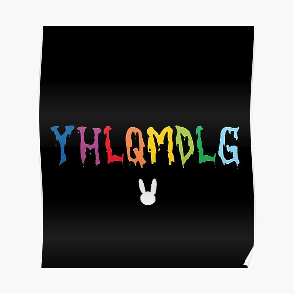 YHLQMDLG - Bad Bunny Poster RB3107 product Offical Bad Bunny Merch