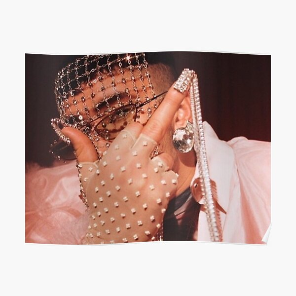 Bad Bunny Poster RB3107 product Offical Bad Bunny Merch