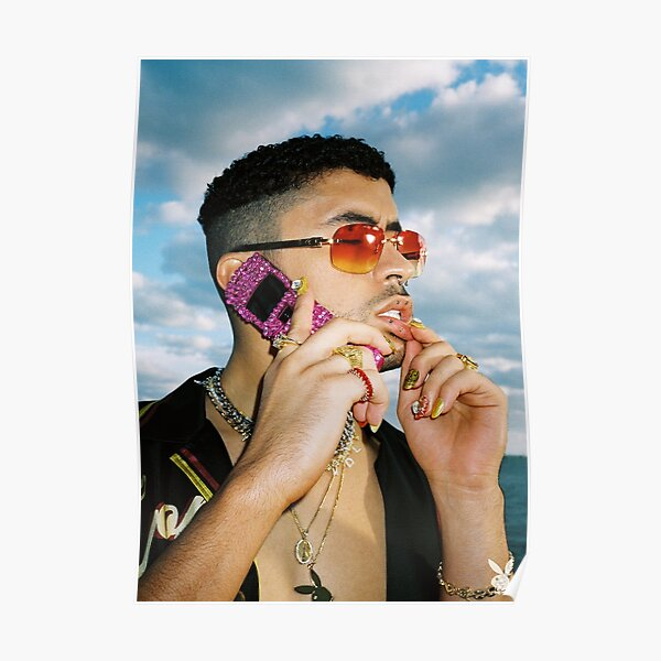 BAD BUNNY Playboy Mag  Poster RB3107 product Offical Bad Bunny Merch