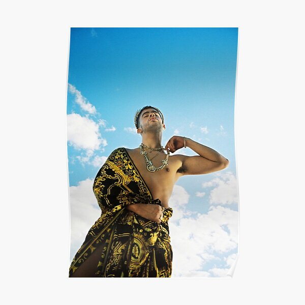 BAD BUNNY Playboy Greek God Poster RB3107 product Offical Bad Bunny Merch