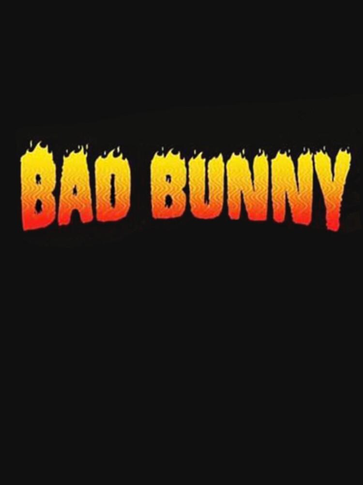 artwork Offical Bad Bunny Merch