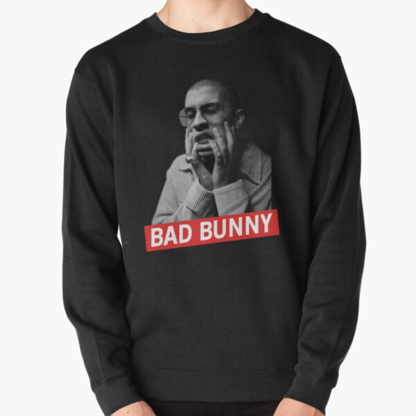 Bad Bunny x100PRE Shirt Pullover Sweatshirt RB3107 product Offical Bad Bunny Merch