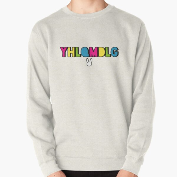 Bad Bunny - YHLQMDLG Pullover Sweatshirt RB3107 product Offical Bad Bunny Merch