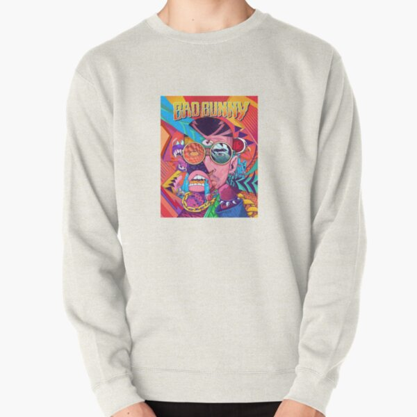 Bad Bunny Design Pullover Sweatshirt RB3107 product Offical Bad Bunny Merch