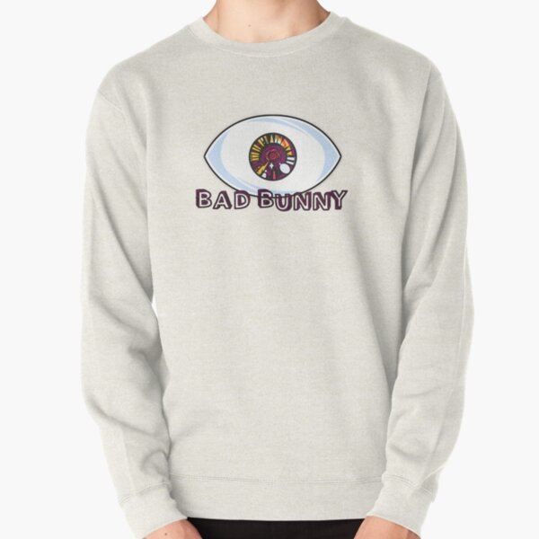 Bad Bunny EYES Pullover Sweatshirt RB3107 product Offical Bad Bunny Merch