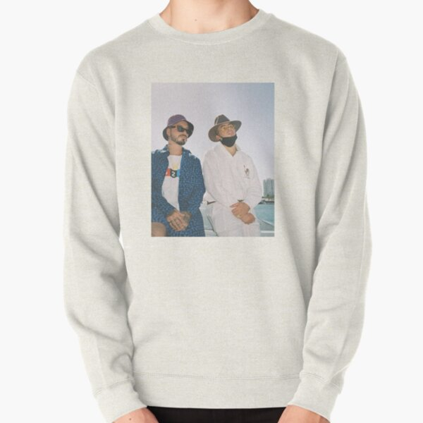 BAD BUNNY J BALVIN Oasis Ocean Pullover Sweatshirt RB3107 product Offical Bad Bunny Merch