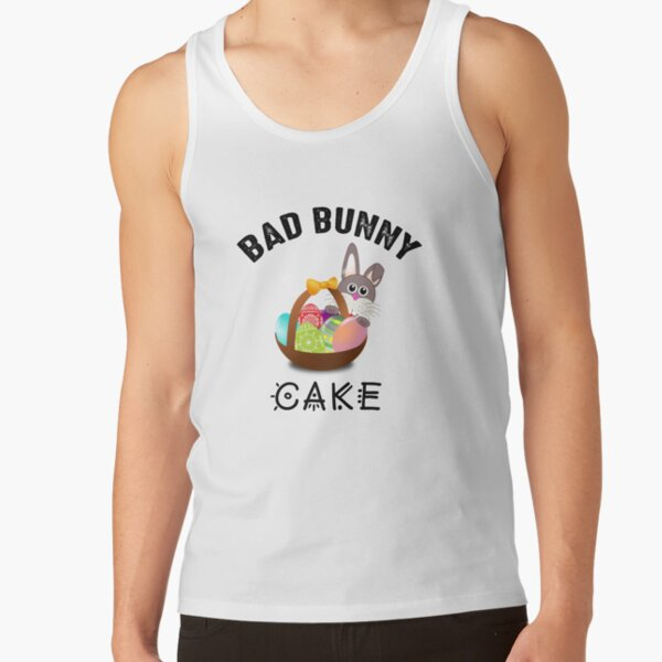 Bad Bunny Cake Tank Top RB3107 product Offical Bad Bunny Merch