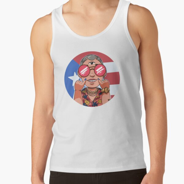 Bad Bunny x100PRE Tour Merch Tank Top RB3107 product Offical Bad Bunny Merch