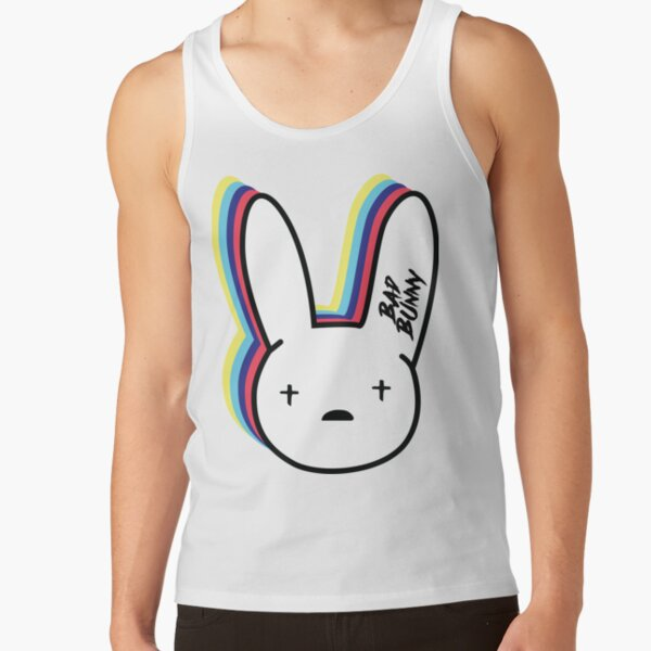 Bad Bunny Logo Tank Top RB3107 product Offical Bad Bunny Merch
