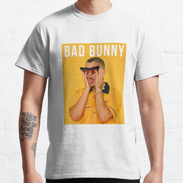 Bad Bunny Poster Classic T-Shirt RB3107 product Offical Bad Bunny Merch