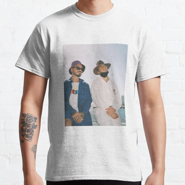 BAD BUNNY J BALVIN Oasis Ocean Classic T-Shirt RB3107 product Offical Bad Bunny Merch