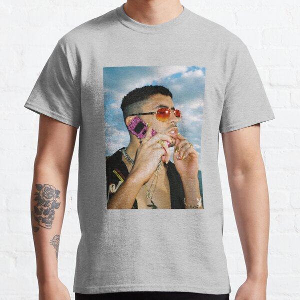 BAD BUNNY Playboy Mag  Classic T-Shirt RB3107 product Offical Bad Bunny Merch