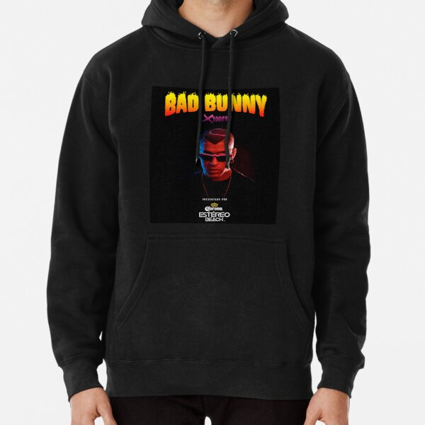 Bad Bunny Tour 2019 Pullover Hoodie RB3107 product Offical Bad Bunny Merch