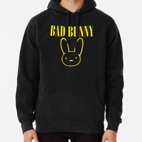 Bad Bunny Nirvana Pullover Hoodie RB3107 product Offical Bad Bunny Merch