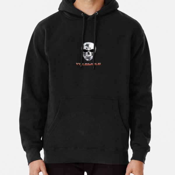 Bad Bunny YHLQMDLG (New Album) Skull Design Pullover Hoodie RB3107 product Offical Bad Bunny Merch