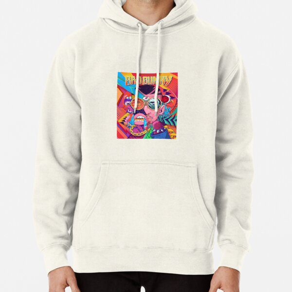 Bad Bunny Design Pullover Hoodie RB3107 product Offical Bad Bunny Merch