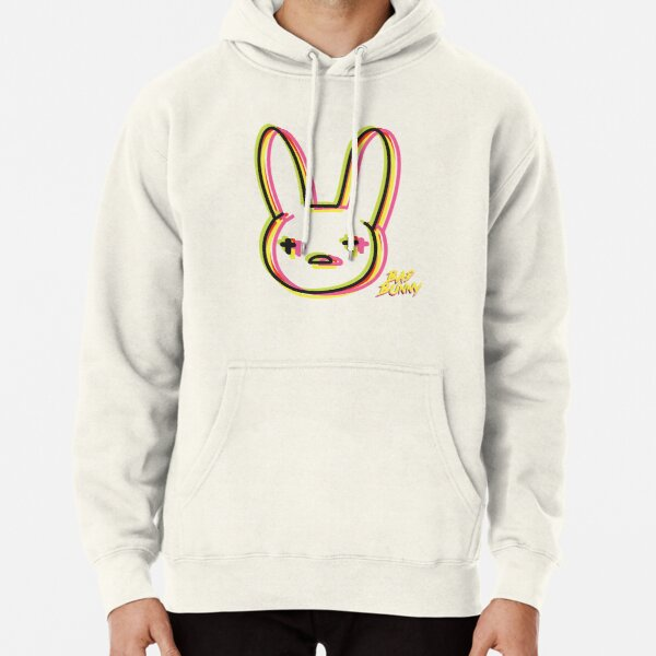 bad bunny neon  Pullover Hoodie RB3107 product Offical Bad Bunny Merch