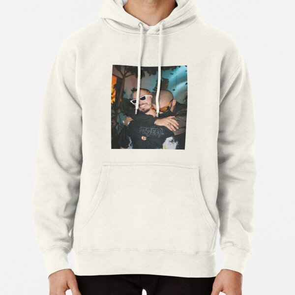 BAD BUNNY J BALVIN Oasis Tropical  Pullover Hoodie RB3107 product Offical Bad Bunny Merch