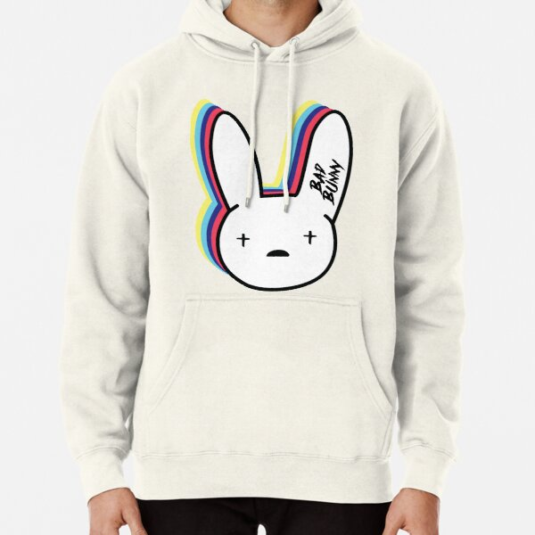 Bad Bunny Logo Pullover Hoodie RB3107 product Offical Bad Bunny Merch