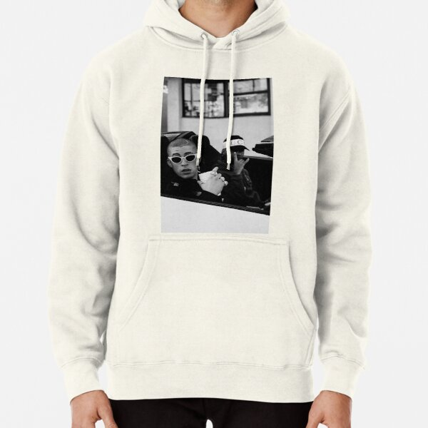 Bad bunny car Pullover Hoodie RB3107 product Offical Bad Bunny Merch