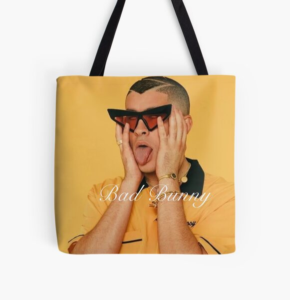 Bad bunny T-shirt, bad bunny fan & gear All Over Print Tote Bag RB3107 product Offical Bad Bunny Merch