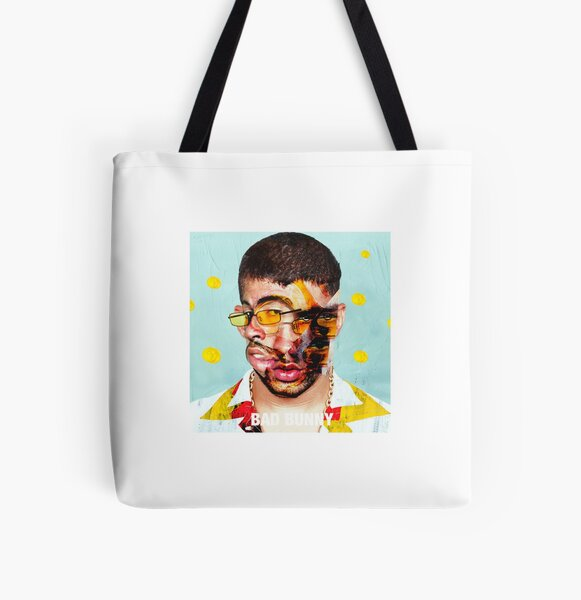Bad Bunny Collage All Over Print Tote Bag RB3107 product Offical Bad Bunny Merch