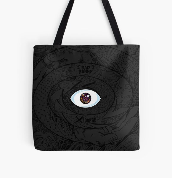Bad Bunny X100Pre Eye Album Cover All Over Print Tote Bag RB3107 product Offical Bad Bunny Merch
