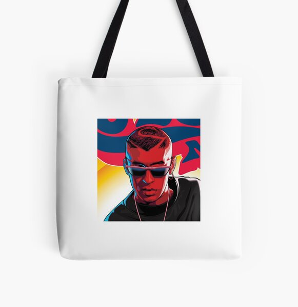 Bad Bunny Painting All Over Print Tote Bag RB3107 product Offical Bad Bunny Merch