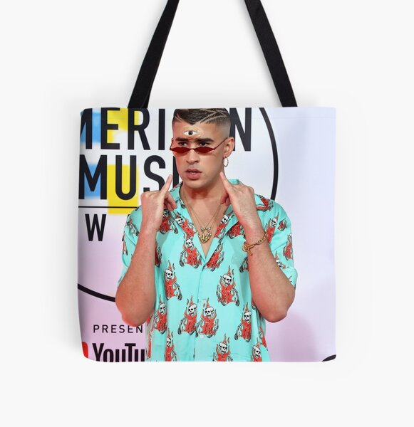 BAD BUNNY AWARDS All Over Print Tote Bag RB3107 product Offical Bad Bunny Merch