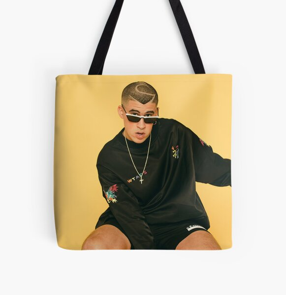 Bad Bunny Shoot All Over Print Tote Bag RB3107 product Offical Bad Bunny Merch
