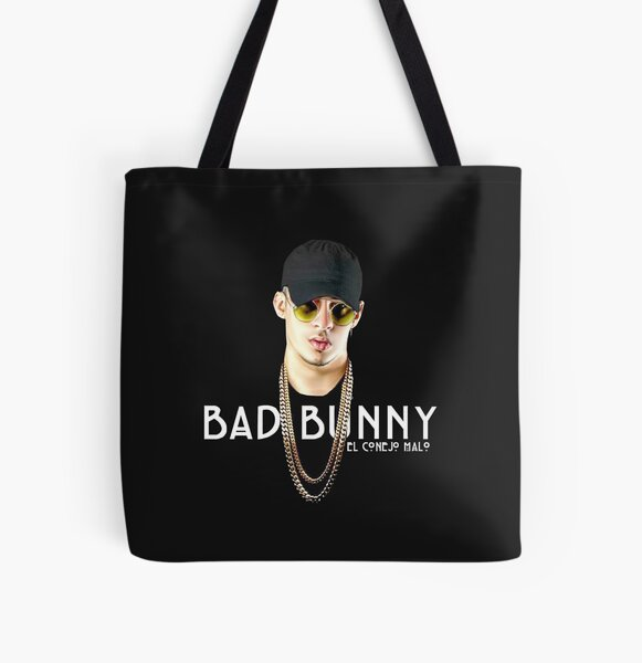 BAD BUNNY All Over Print Tote Bag RB3107 product Offical Bad Bunny Merch