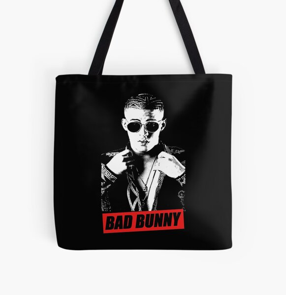BAD BUNNY DESIGN All Over Print Tote Bag RB3107 product Offical Bad Bunny Merch