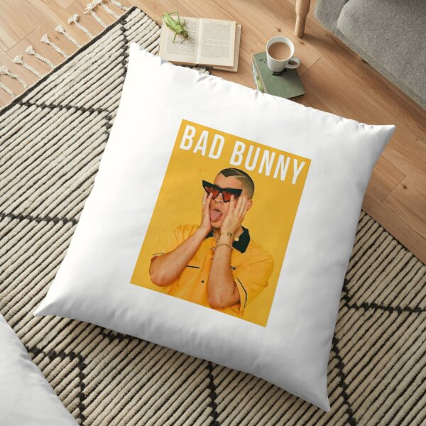 Bad Bunny Poster Floor Pillow RB3107 product Offical Bad Bunny Merch