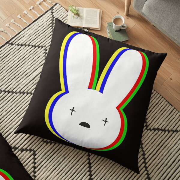 Bad Bunny Floor Pillow RB3107 product Offical Bad Bunny Merch