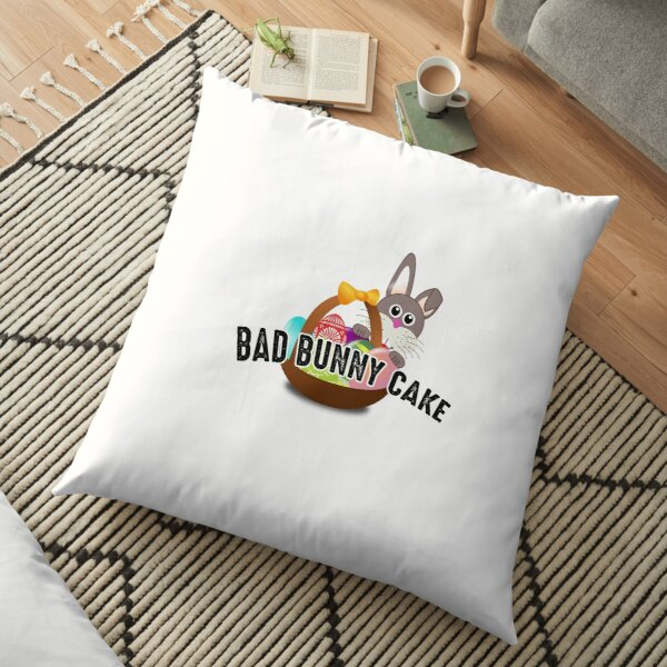 Bad Bunny Cake Floor Pillow RB3107 product Offical Bad Bunny Merch