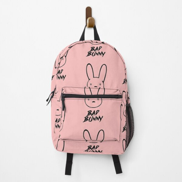 Bad Bunny Logo Backpack RB3107 product Offical Bad Bunny Merch