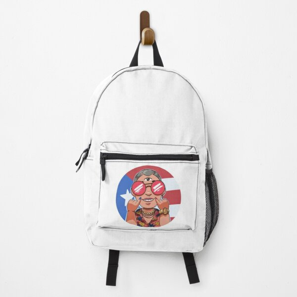 Bad Bunny Art Backpack RB3107 product Offical Bad Bunny Merch