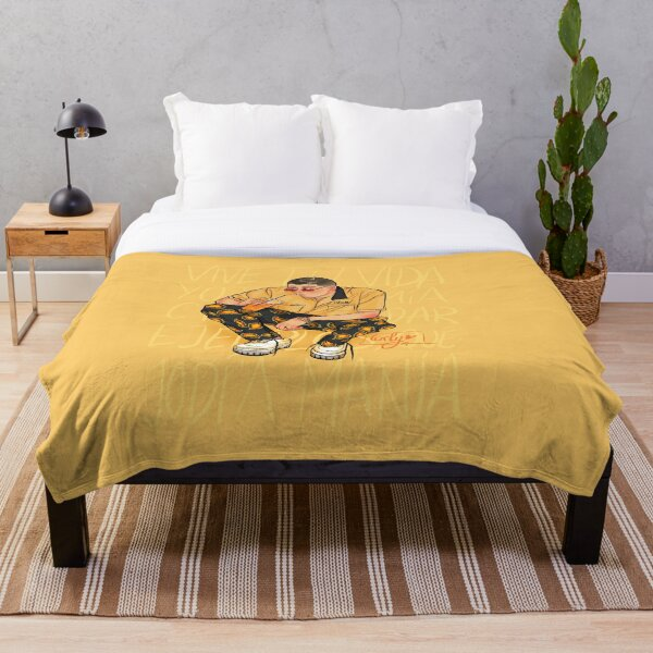 Bad bunny Throw Blanket RB3107 product Offical Bad Bunny Merch