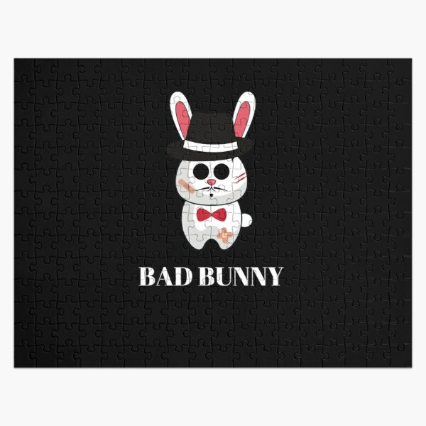 Bad bunny mafia Jigsaw Puzzle RB3107 product Offical Bad Bunny Merch