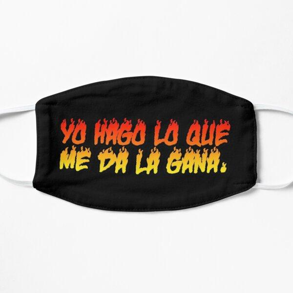 Bad Bunny - Yo Hago Lo Que Me Da La Gana Flat Mask RB3107 product Offical Bad Bunny Merch