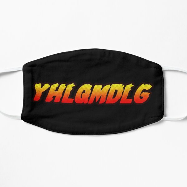 YHLQMDLG Flat Mask RB3107 product Offical Bad Bunny Merch